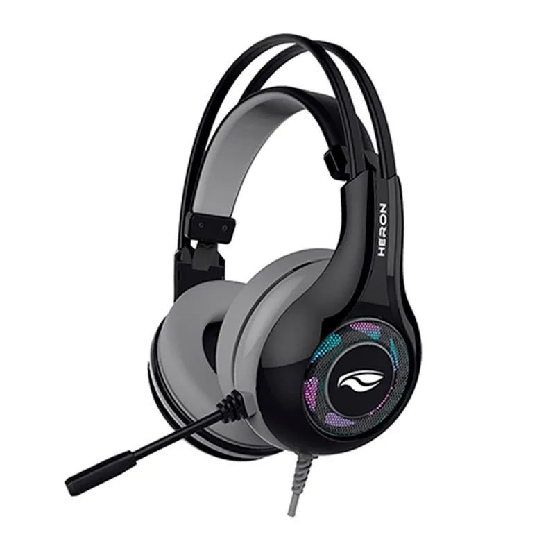 Headset Gamer C3Tech Heron 2 Audio 7.1 USB Preto PH-G701BKV2