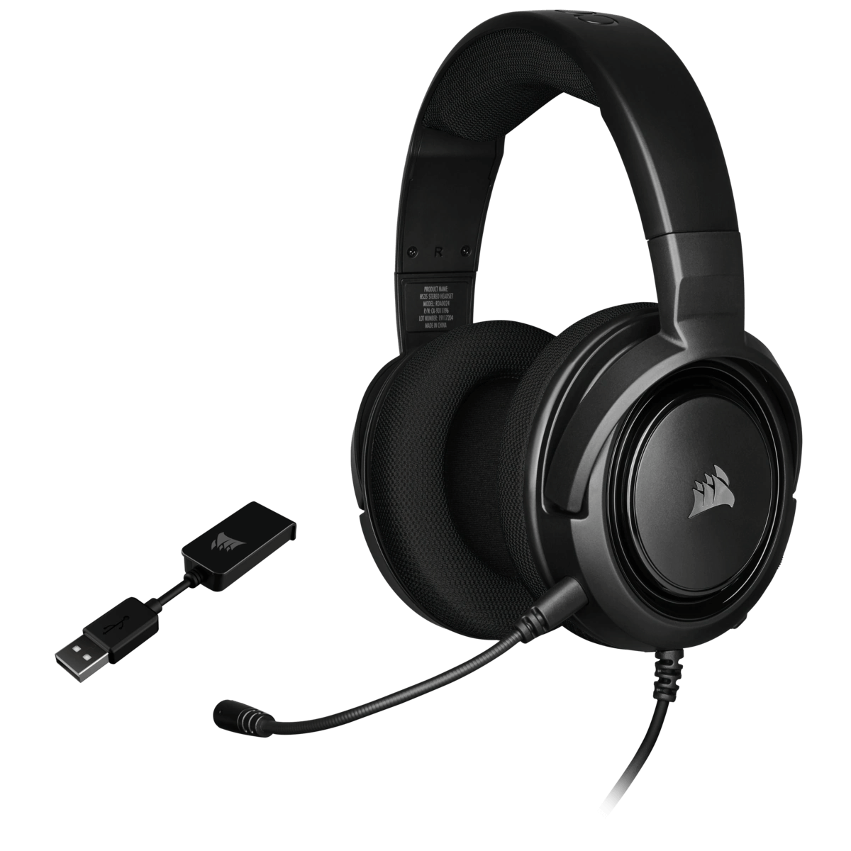 Headset Gamer Corsair HS45 Surround 7.1 Preto CA-9011220-NA