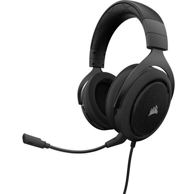 Headset Gamer Corsair HS50 Carbon ( CA-9011170-NA )