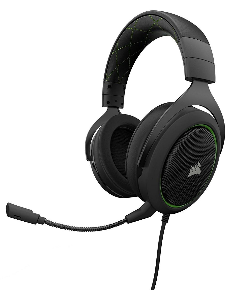 Headset Gamer Corsair HS50 Verde CA-9011171-NA