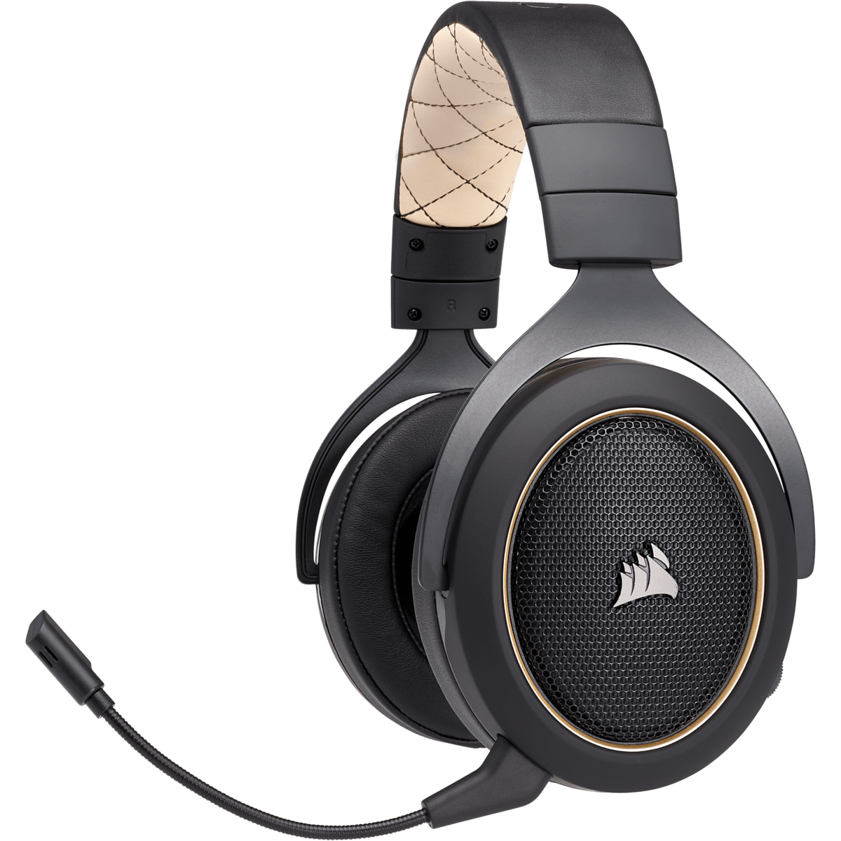 Headset Gamer Corsair HS70 Wireless Carbono, 7.1 Gold - CA-9011178-NA