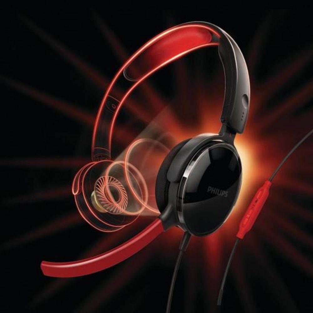 Headset Gamer Philips SHG7210/10 ON EAR Microfone