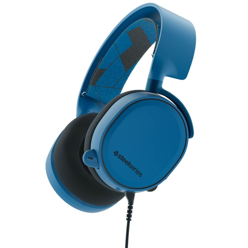 Headset Gamer Steelseries Arctis 3 Blue 7.1