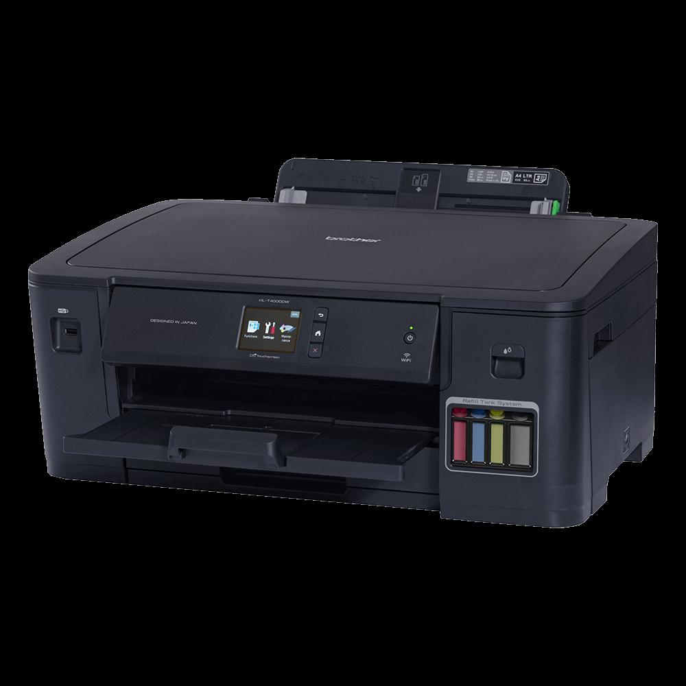 Impressora Brother HL-T4000DW Tanque de Tinta A3 Wifi