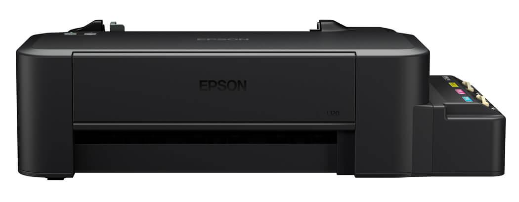 Impressora EPSON Tanque de Tinta L120 Colorida Ecotank