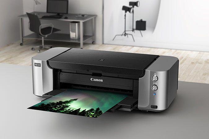 Impressora A3 Fotografica Pixma Canon PRO-100 Wifi