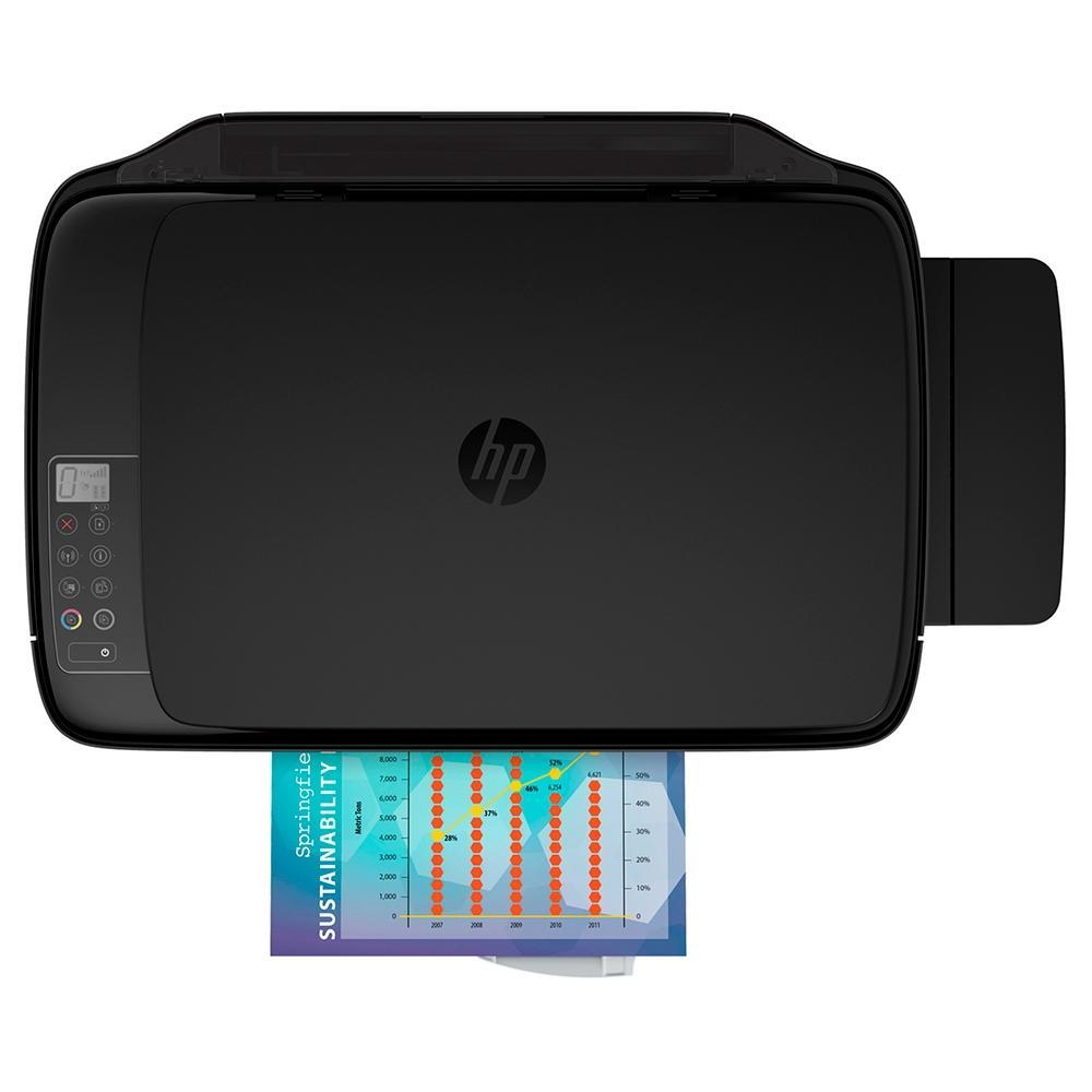 Impressora Multifuncional HP Ink Tank 416, Jato de Tinta, Colorida, Wi-Fi, Bivolt