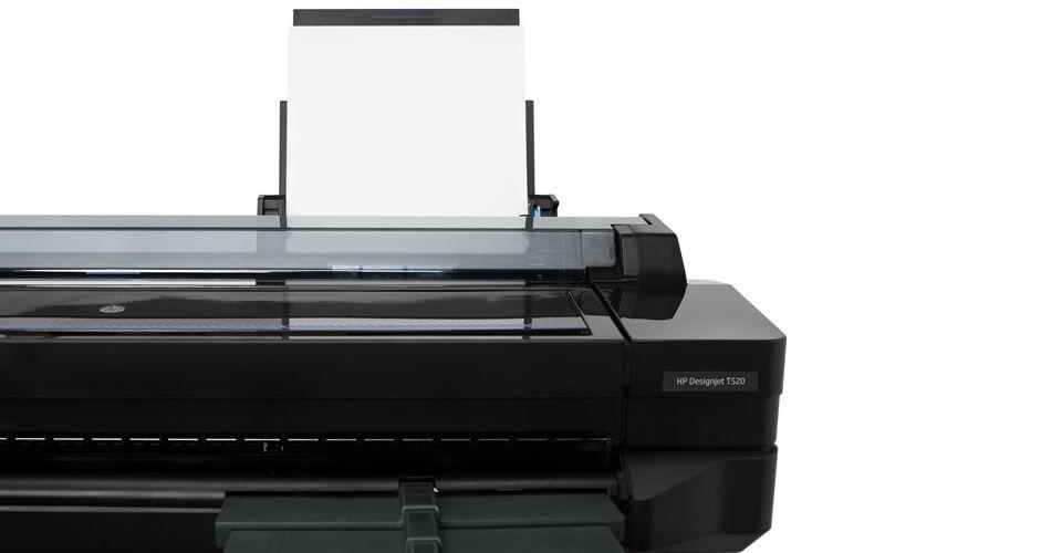 """Impressora Plotter HP Designjet T520 36"""" - CQ893C#B1K"""