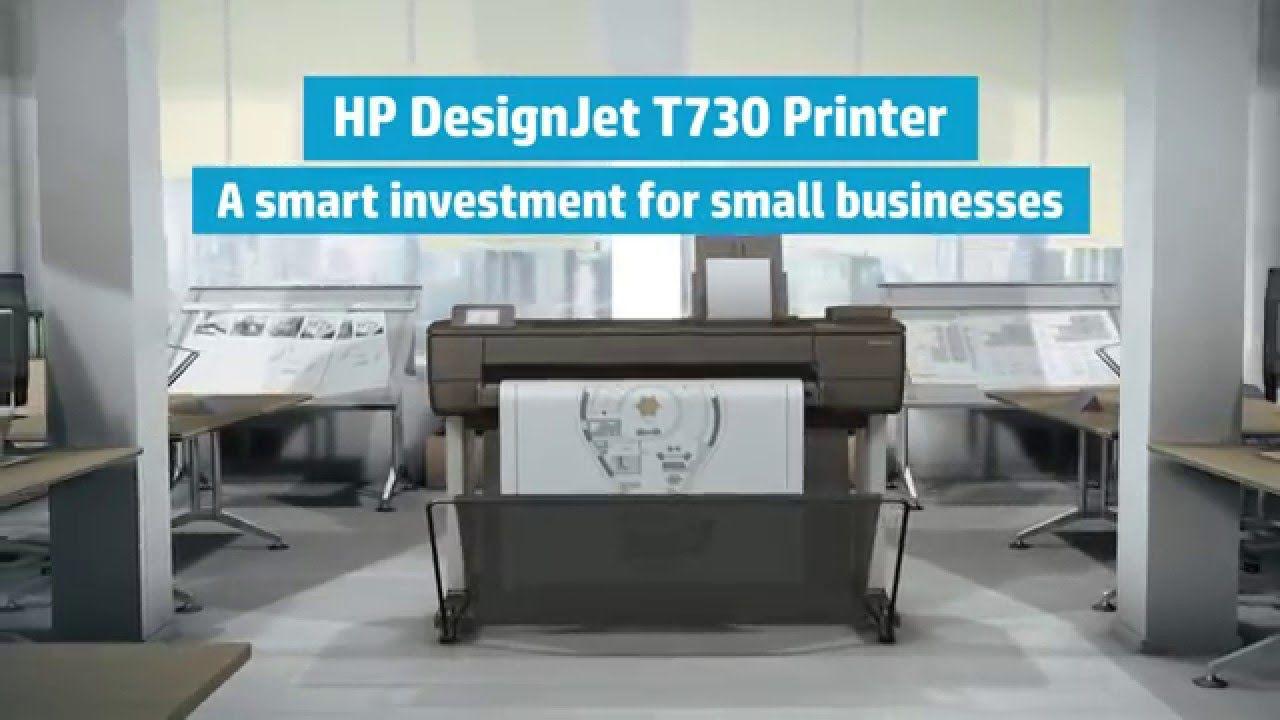 """Impressora Plotter HP Designjet T730 36"""" - F9A29A#B1K"""