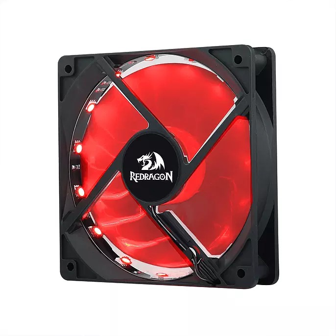 Kit Cooler Fan Redragon, RGB, 120mm - GC F006