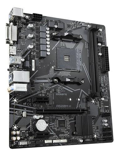 Kit Gamer Ryzen 5 5600G + Placa mãe A520M A520