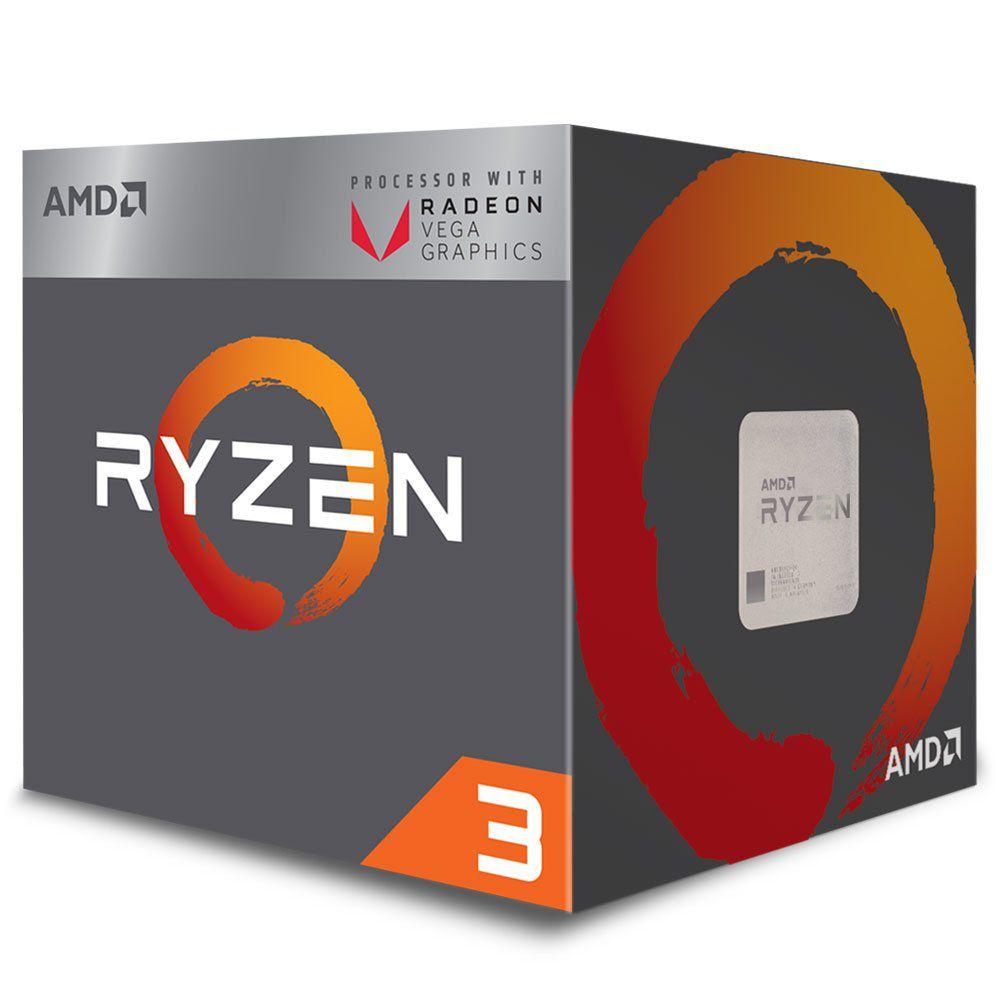 Kit Gamer Upgrade A320M HD + Processador Ryzen 3 2200G
