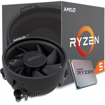 Kit Gamer Upgrade B450 B450M Gaming BR + Processador Ryzen 5 2600 + 8GB DDR4