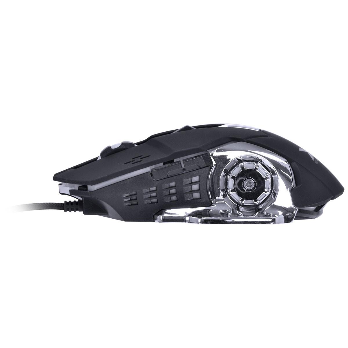 Kit Mouse e Teclado VX Gaming Vermelho Grifo VGC-01V