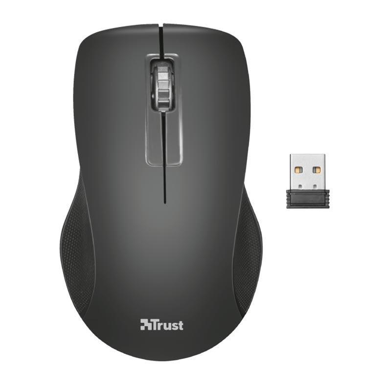 Kit Teclado Mouse Trust Ziva Wireless T22542