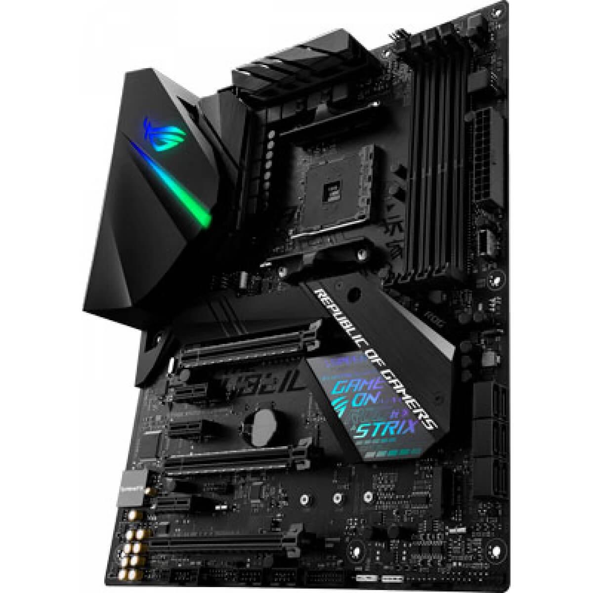 Kit Upgrade Gamer X470 F Gaming + Ryzen 5 2400G + 8GB DDR4