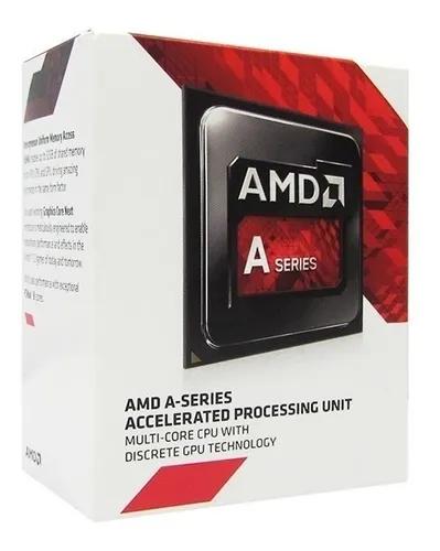 Kit Upgrade Gamer AMD Placa Mãe A68MHE CPU A6 7480 FM2 Radeon R5 3.8GHz