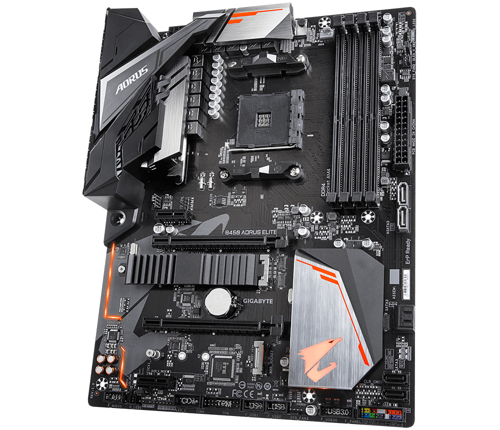 Kit Upgrade Gamer B450 Aorus Elite + Processador 200GE + 8GB DDR4