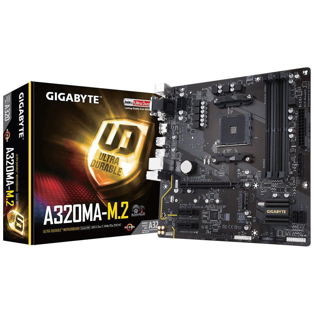 Kit Upgrade Gamer Gigabyte A320M M2  + Ryzen 5 2600 + 8GB DDR4