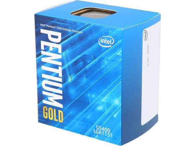 Kit Upgrade Intel G5400 + Placa mãe H310 HG4 DDR4