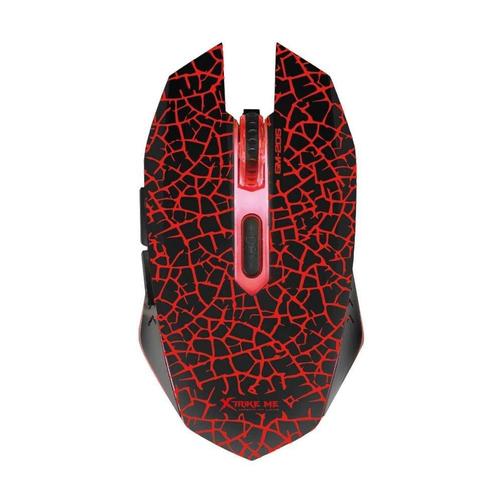Kit Xtrike Me Teclado e Mouse Gamer MK-503KIT Rainbow