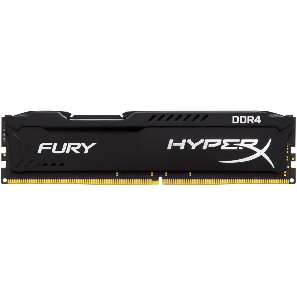 Memória 8GB 2400Mhz DDR4 Kingston HyperX Fury HX424C15FB2/8