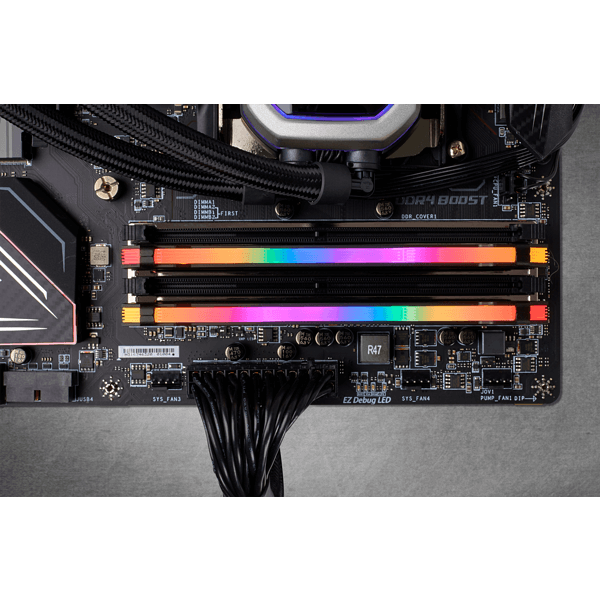 Memoria Corsair Vengeance LED RGB PRO DDR4 16GB 2666MHZ
