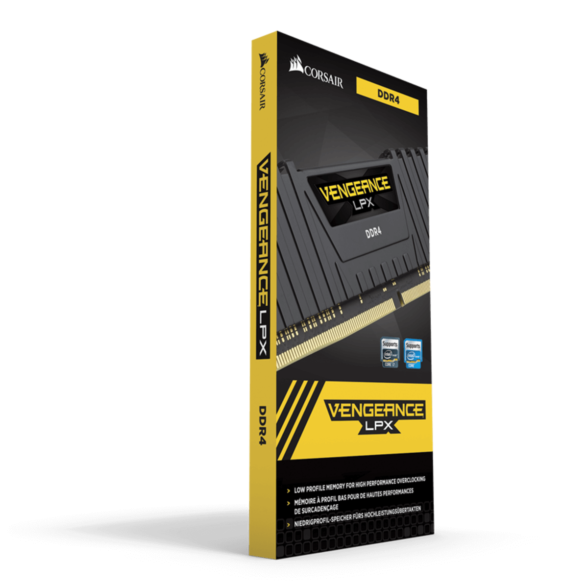 Memória Corsair Vengeance LPX 8GB DDR4 3000Mhz Preta - CMK8GX4M1C3000C16