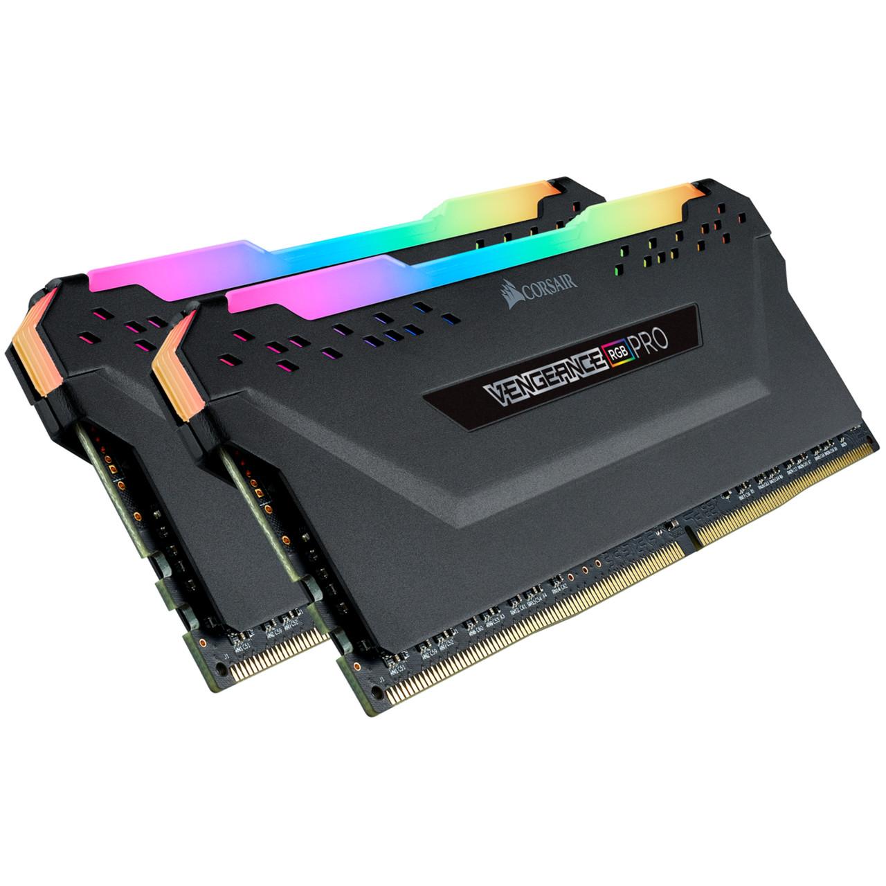 Memoria Corsair Vengeance RGB PRO 16GB (2x8) DDR4 2666Mhz - CMW16GX4M2A2666C16