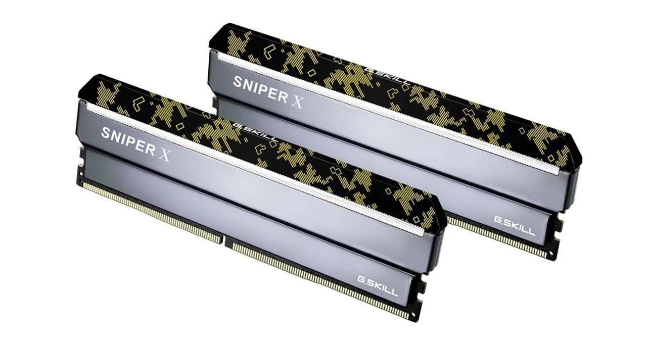 Memória Gamer G.Skill Sniper DDR4 3600Mhz F4-3600C19D-16GSXKB
