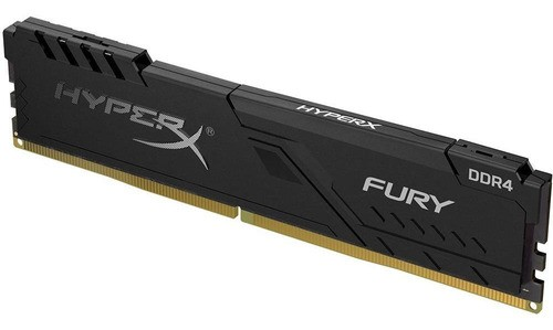 Memória Gamer HyperX Fury 16GB 2666Mhz DDR4 CL16 Preto HX426C16FB3/16