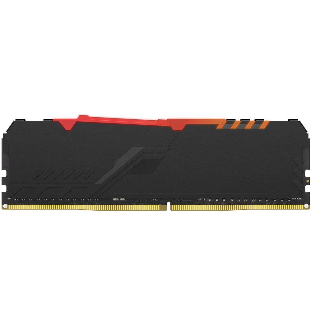 Memória Ram Kingston Hyperx, 2666MHz, 8GB, RGB, Preto - hx426c16fb3a/8