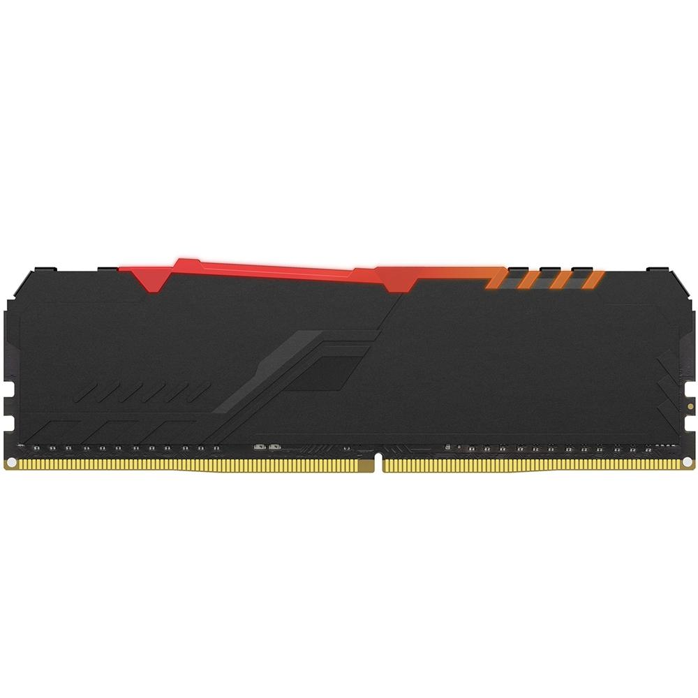 Memória Ram Kingston Hyperx, 3200MHz, 8GB, RGB, Preto - hx432c16fb3a/8