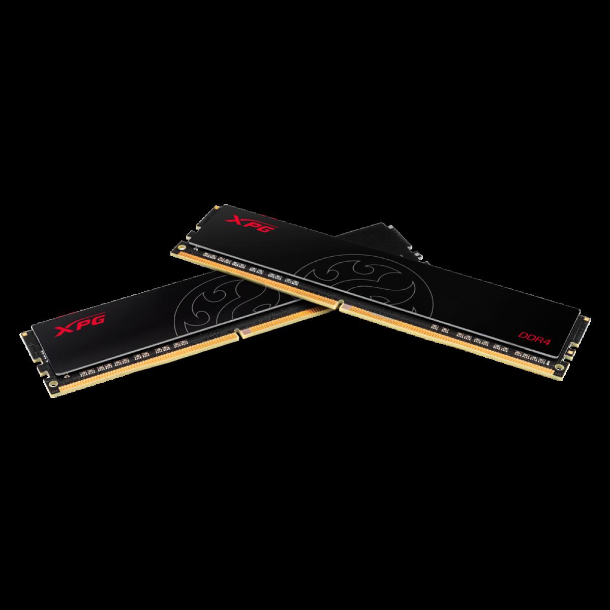 Memória XPG Hunter 8GB 2666MHz DDR4 CL16 - AX4U26668G16-SBHT