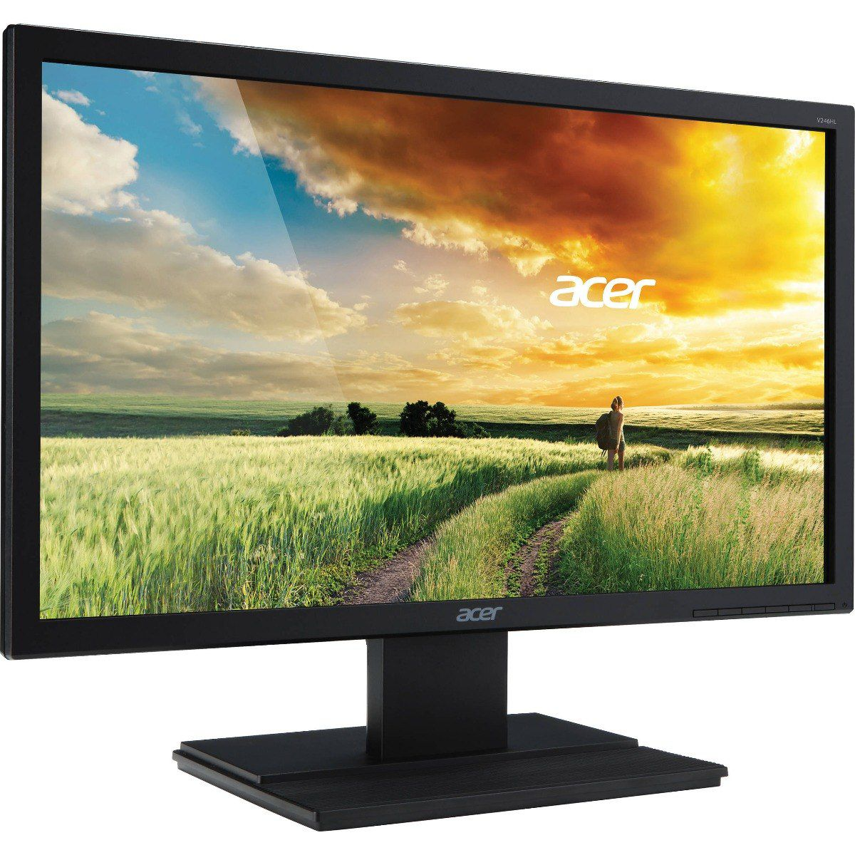 "Monitor 23,6"" LED ACER VGA Vesa FULL HD HDMI DVI V246HQL"