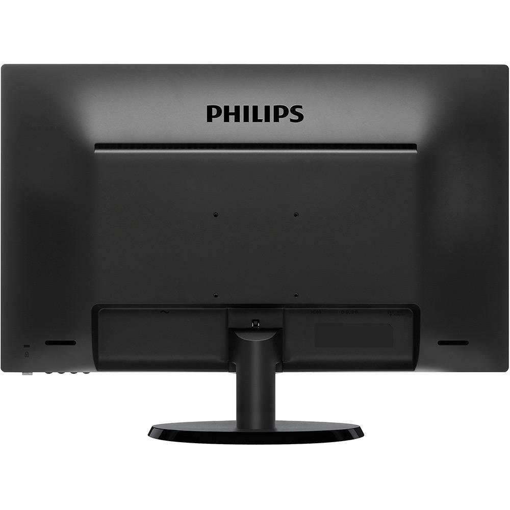 "Monitor 23,6"" LED Philips HDMI FULL HD Multimidia 243V5QHABA"