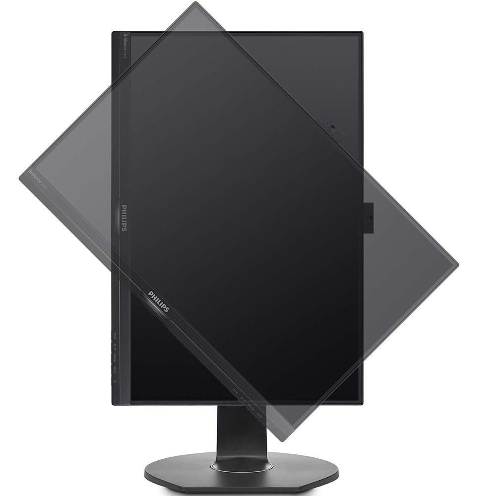 "Monitor 24"" LED Philips Widescreen Webcam Som Integrado 241B7QPJKEB"