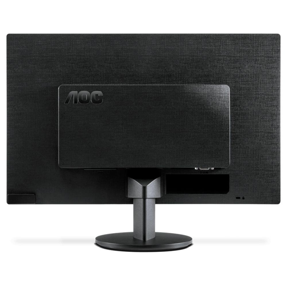 "Monitor AOC 18,5"" Led Widescreen Vga Hdmi E970SWHNL"