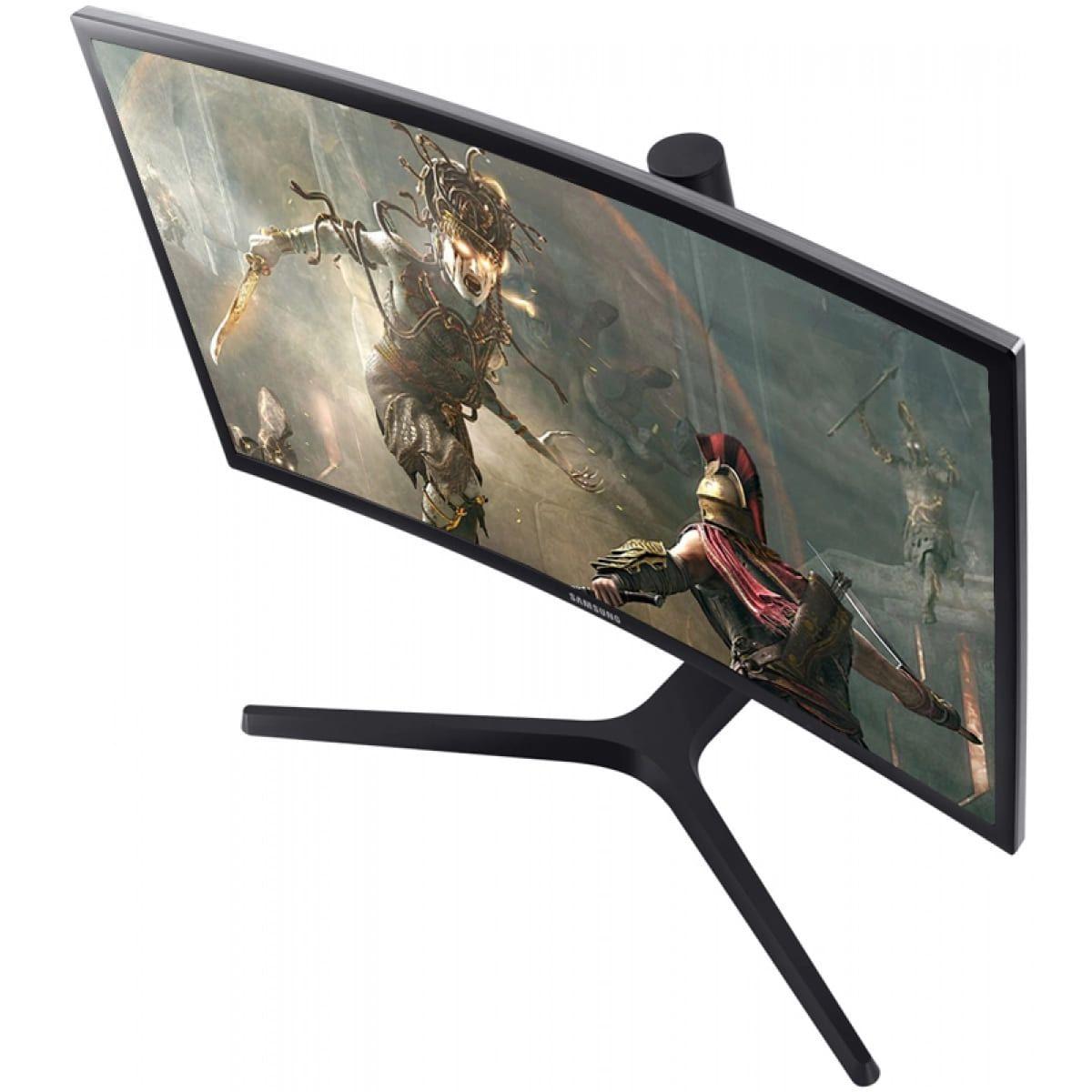 """Monitor Gamer 27"""" Samsung Curvo QLED FULLHD HDMI 1MS 144HZ - LC27FG73FQLXZD"""