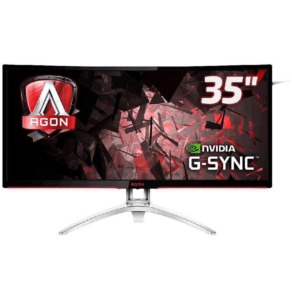 "Monitor Gamer AOC AG352UCG 35"" LED 120HZ 4MS Ultrawide GSYNC"