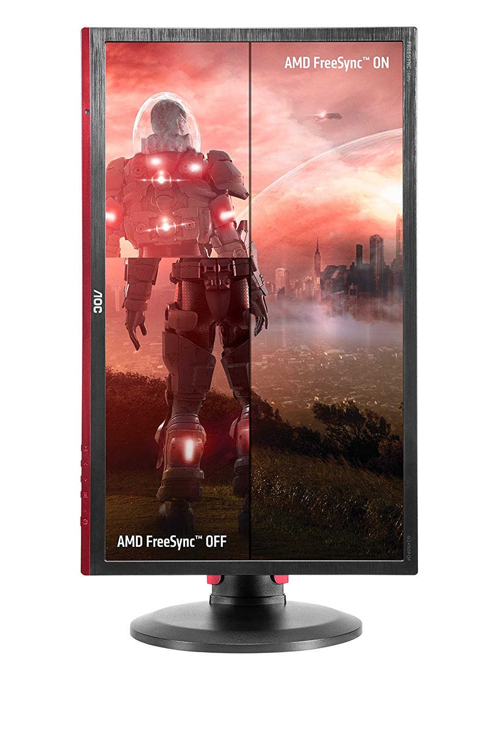 Monitor Gamer Entusiasta AOC G2460PF 24 LED Widescreen