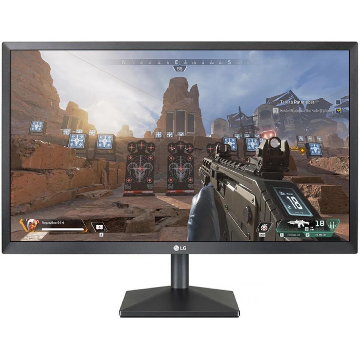 """Monitor Gamer LG 24"""" Full HD AMD FreeSync HDMI 24MK430H"""