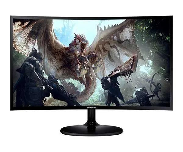 """Monitor Gamer Samsung 24"""" Led Curvo FullHD LC24F390FHL"""