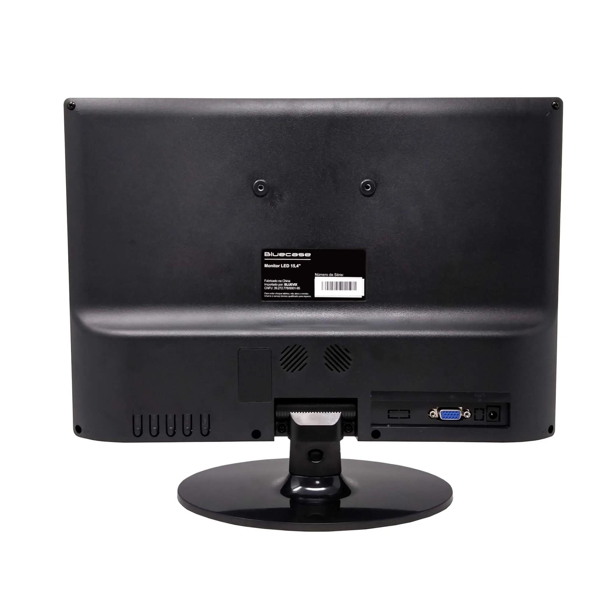 "Monitor LED 15,4"" BlueCase BM154X6VW VGA 60Hz"