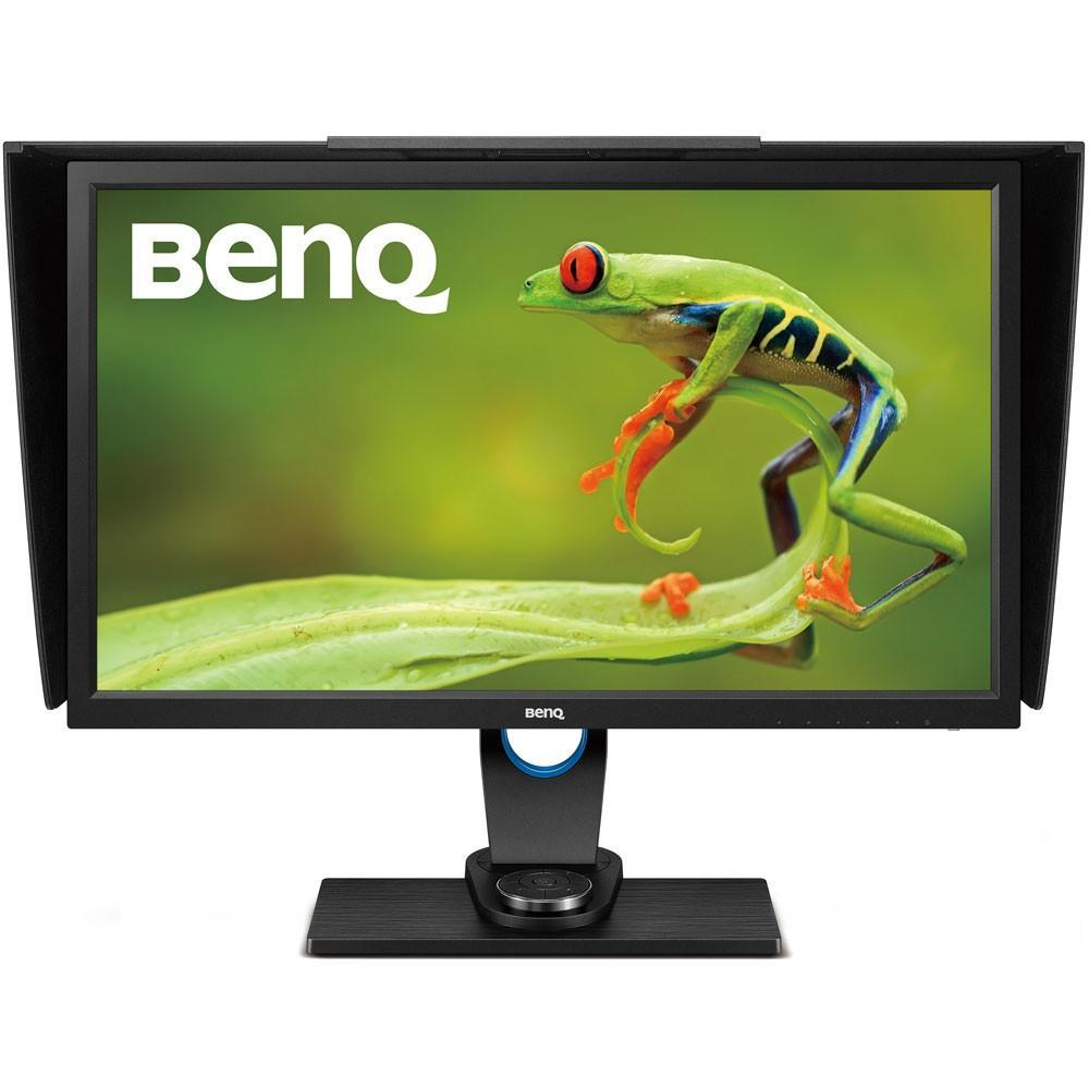 """Monitor LED BENQ SW2700PT 27"""" QHD Pivot DVI HDMI DPI Preto"""