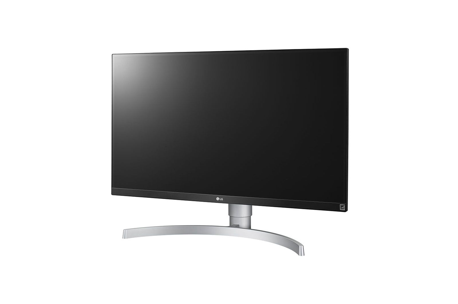 Monitor LG LED 27´ Widescreen 4K IPS Ajuste de Altura Branco - 27UL650-W
