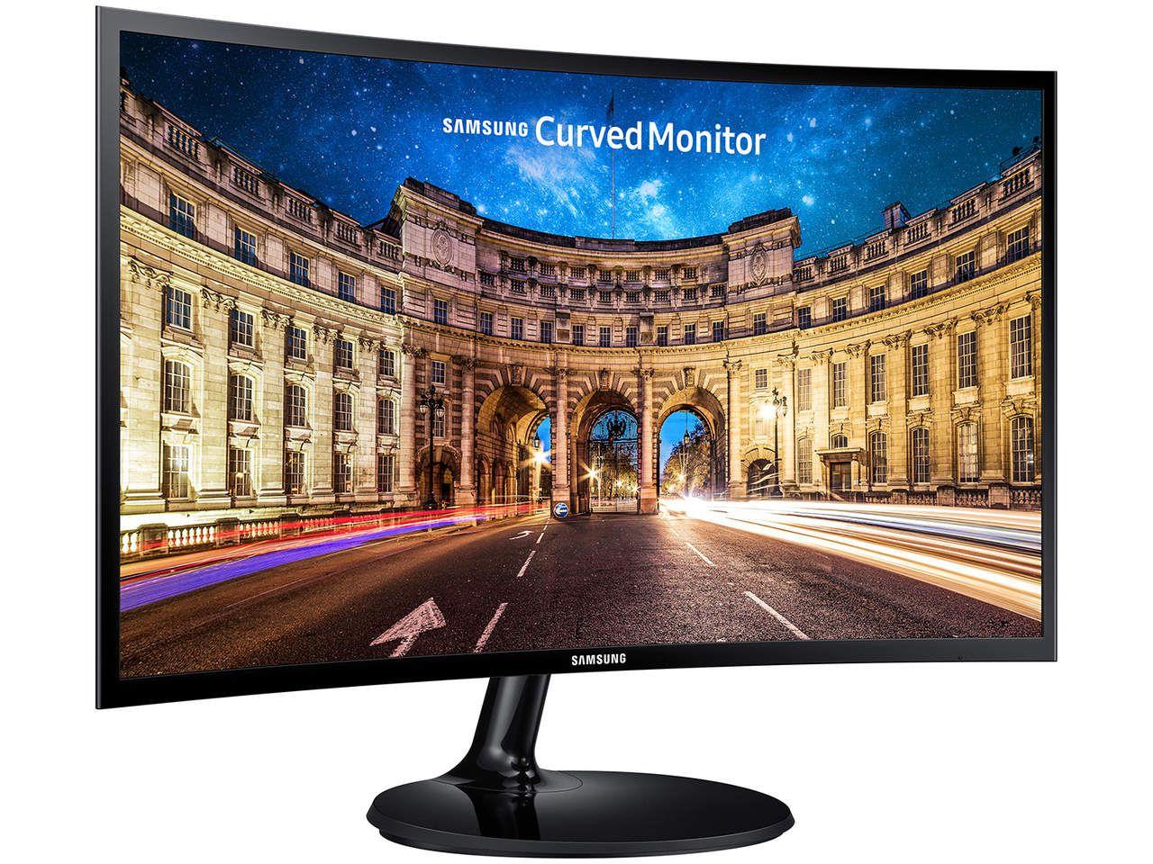 """Monitor Samsung 27"""" C27F390F Curvo FULLHD VGA/HDMI"""