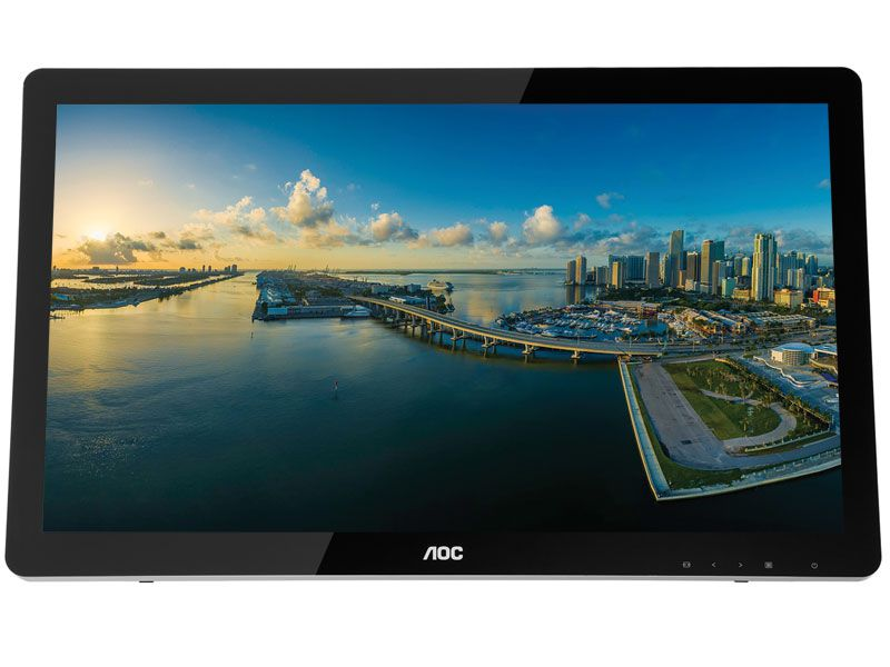 Monitor Touch Screen Multimidia AOC E2272PWUT 21,5 LED 1080P