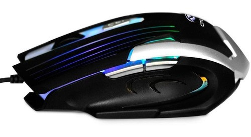 Mouse Gamer C3 Tech 2400DPI C/ Iluminação Preto MG-11BSI