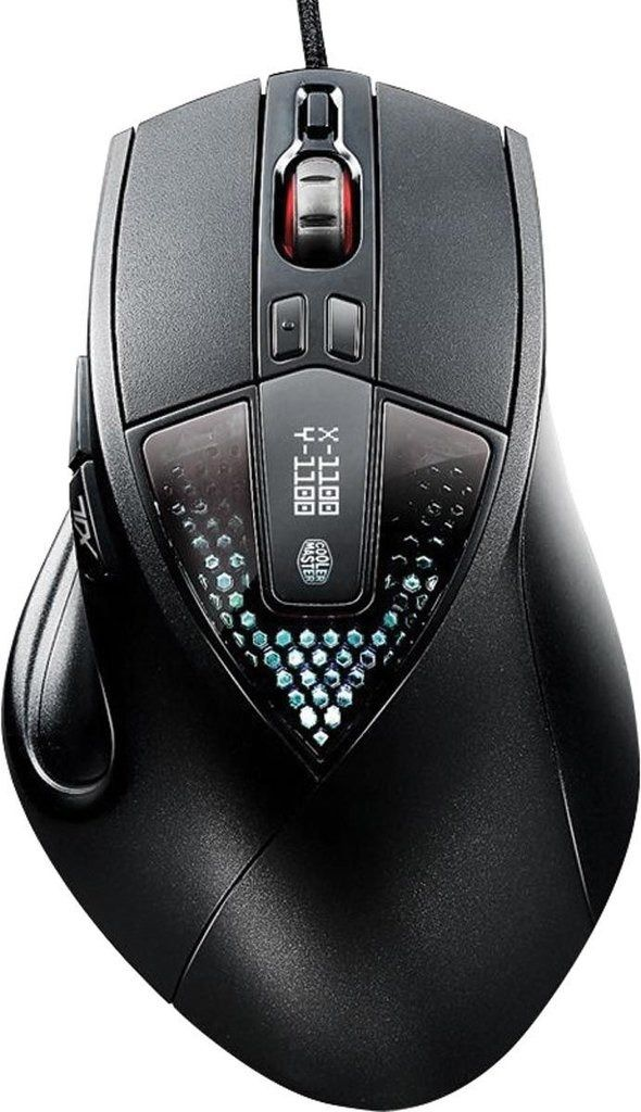 MOUSE GAMER COOLER MASTER ÓPTICO SENTINEL ILL 6400 DPI, SGM-6020-KLOW1